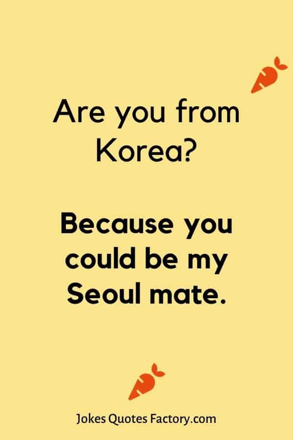 Are you from Korea