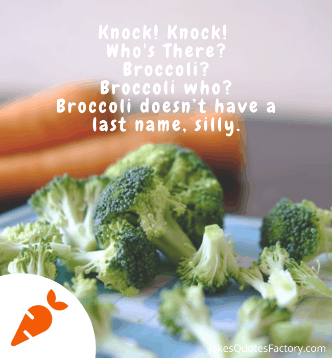 Broccoli doesn't have a last name