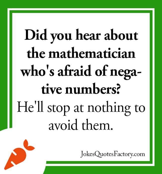 Mathematician joke
