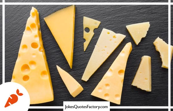 How do cheeses great each other on Monday mornings - Monday jokes