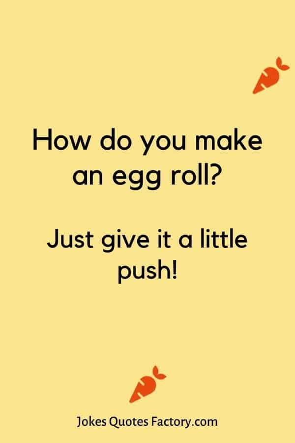 How do you make an egg roll