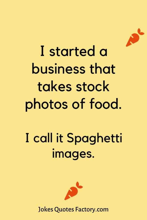 I started a business that takes stock photos of food