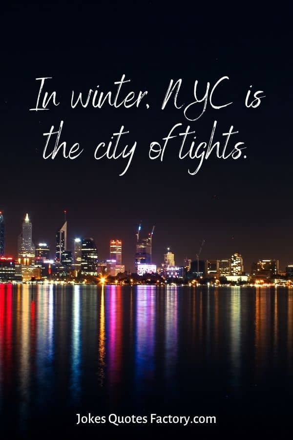 In winter, NYC is the city of tights