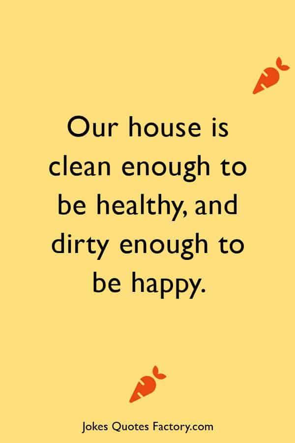cleaning jokes