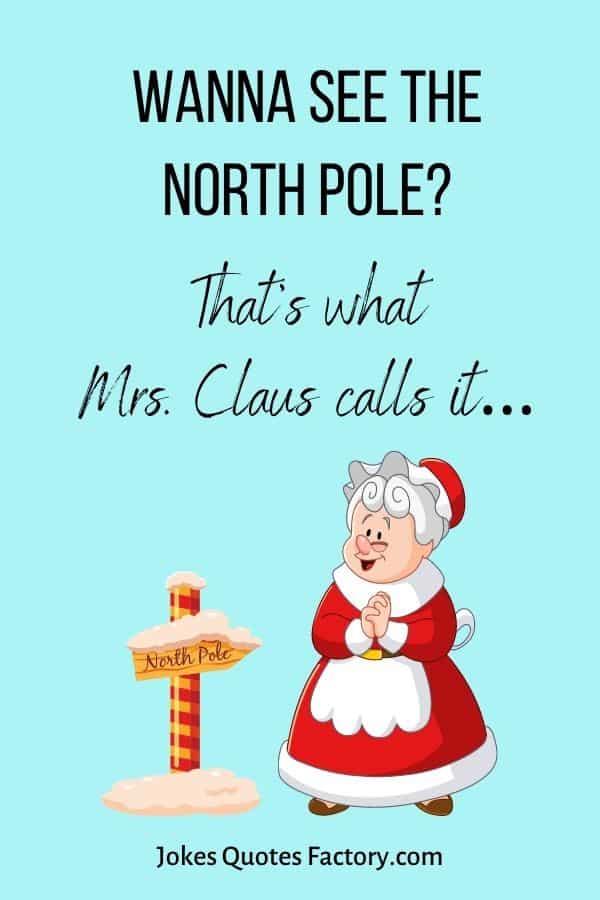 Wanna see the North Pole