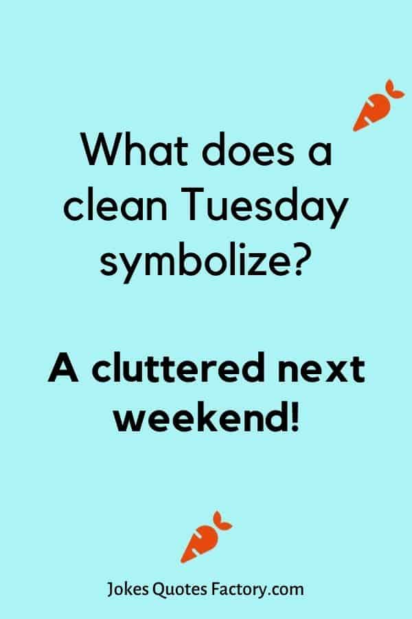 What does a clean Tuesday symbolize
