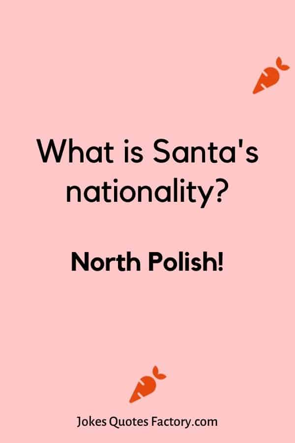 What is Santa's nationality
