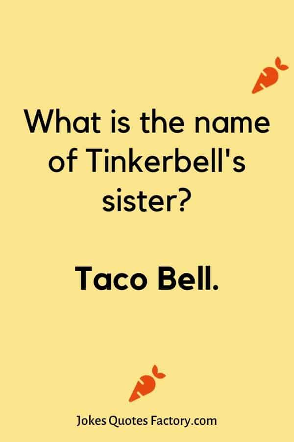 What is the name of Tinkerbell's sister