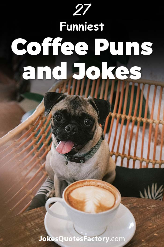 47 Coffee Puns and Jokes - Some are Roasted others are Bitter