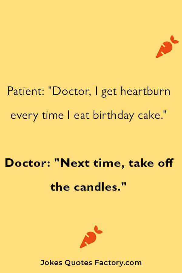One-liner birthday jokes