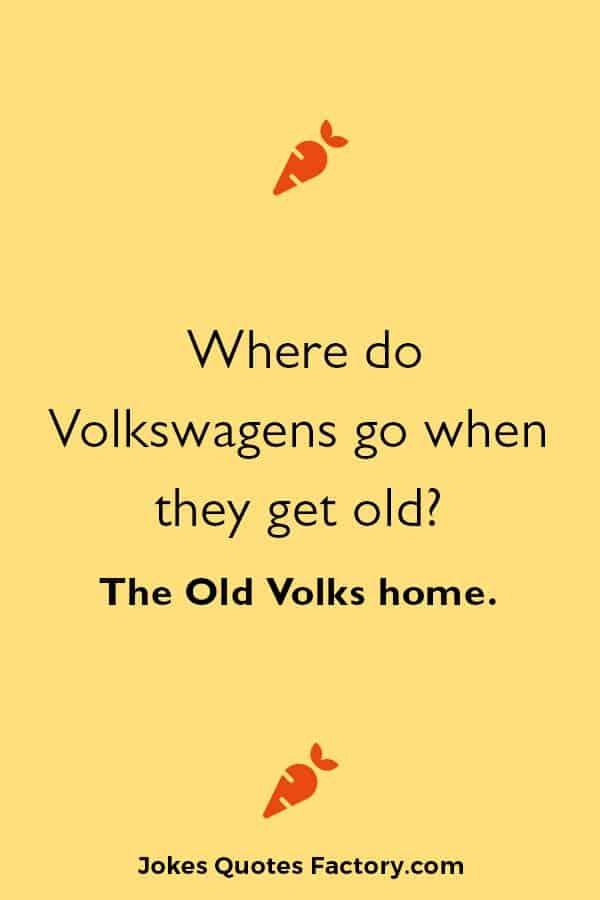 Funny car jokes puns