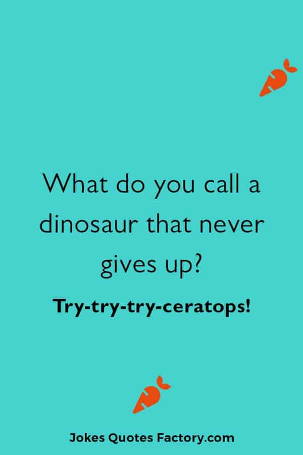 funny dinosaur joke puns