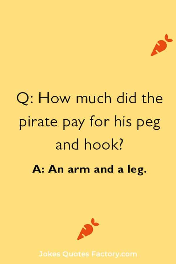 funny pirate jokes and puns