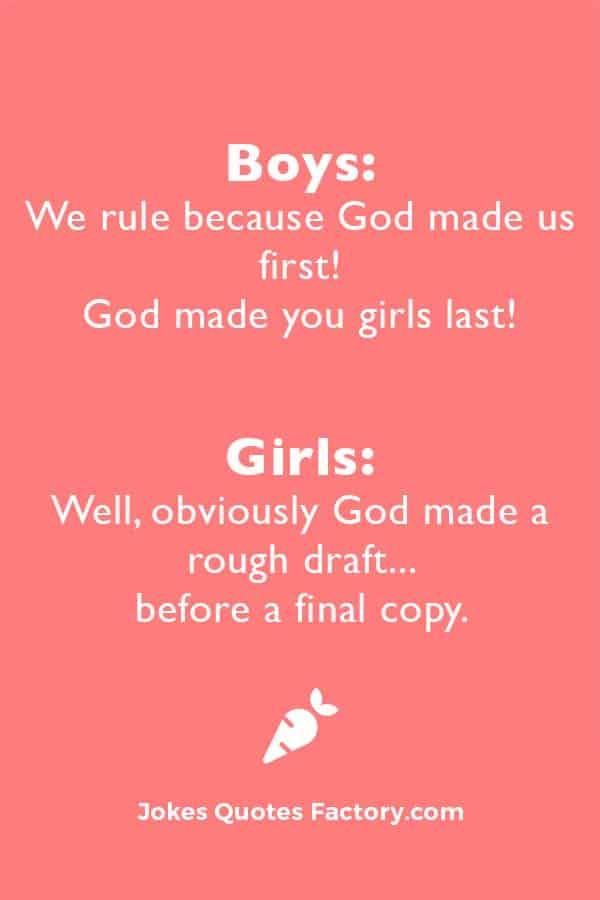 Funny Jokes for Teens Girls