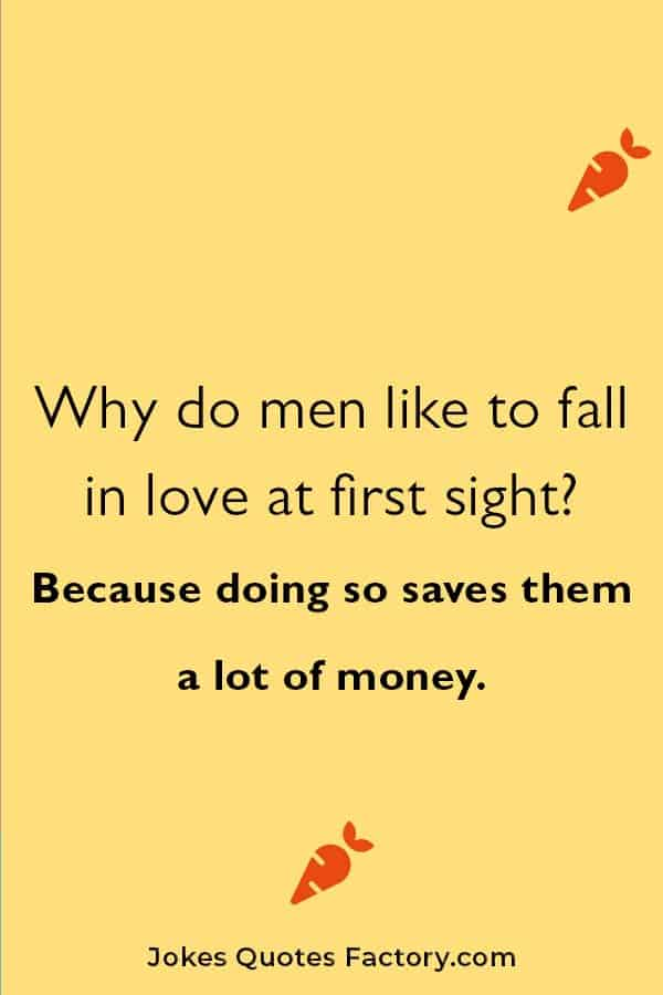 funny and silly love jokes