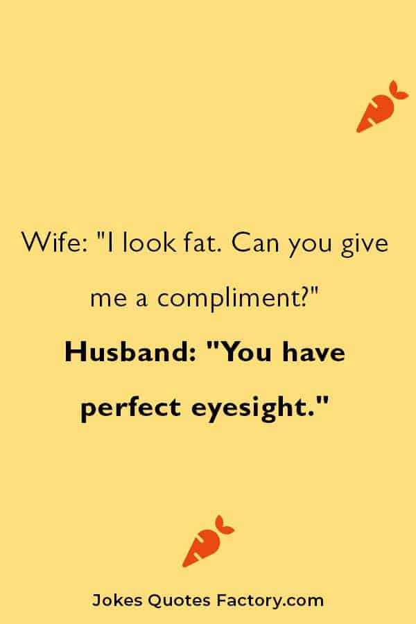 funny husband and wife one-liners