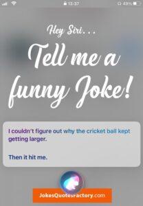 Hey Siri, tell me a funny joke!