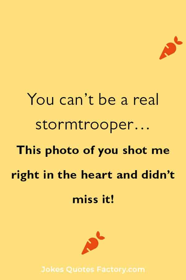 cheesy star wars pick up lines
