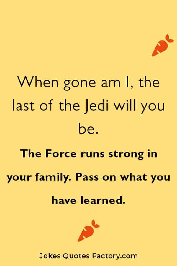 hilarious star wars pick up lines