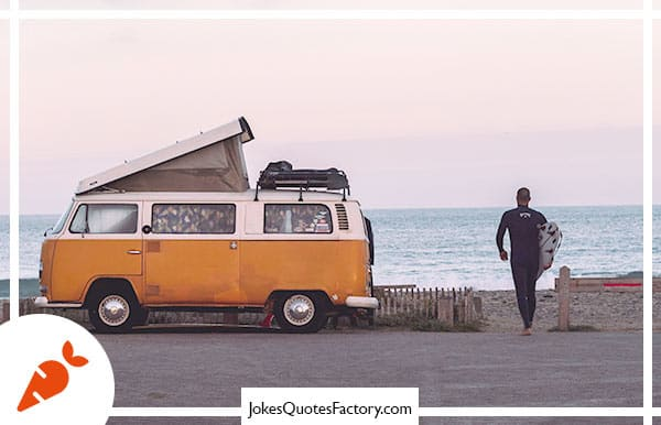 For #vanlife... We're going on an ad-van-ture!